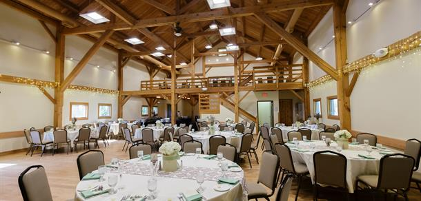 Host a special event at historic Cobblestone Farm.