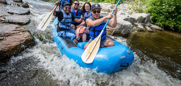 Rafting the Argo Cascades