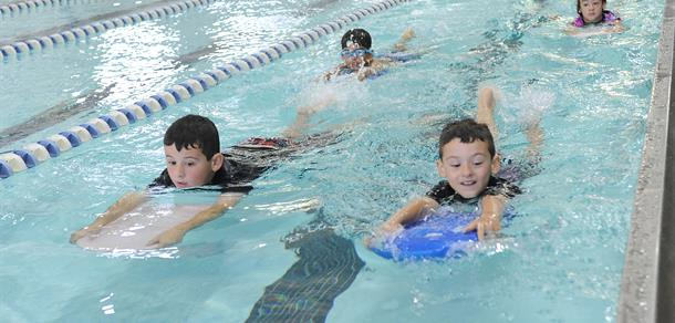 We offer American Red Cross learn-to-swim lessons for all ages.