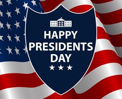 Monday, Feb. 19 Presidents Day Schedule