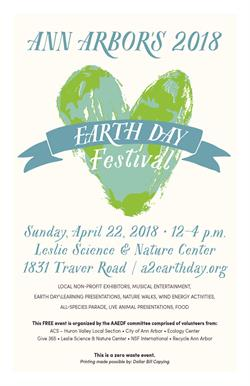 47th Annual Earth Day Festival is April 22